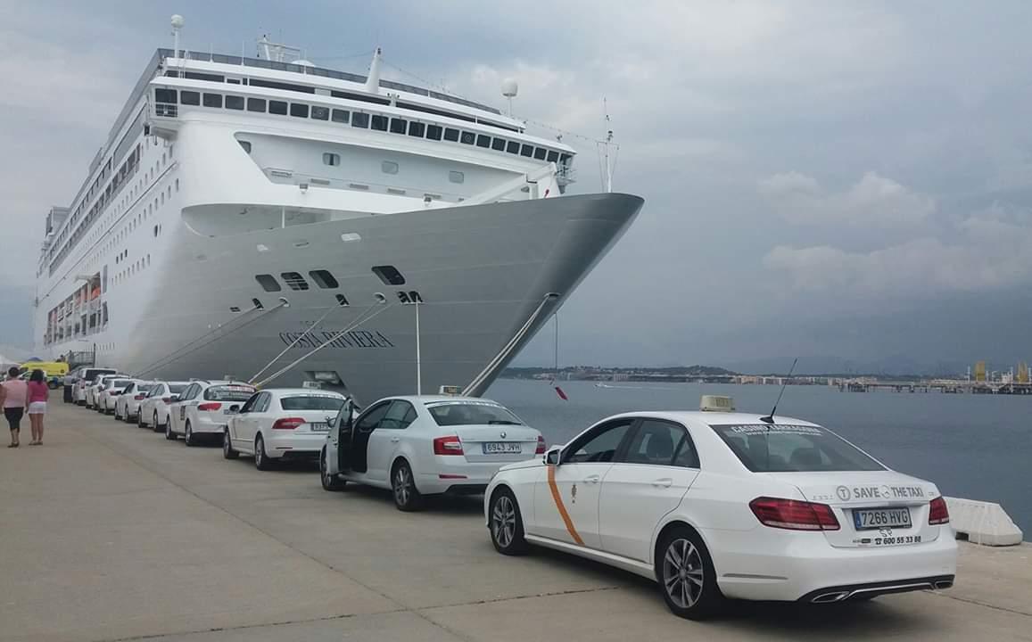 Taxis puerto tarragona